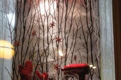 Winter Window Display - The Happy Cooker - Pots and Pans - Winnipeg, Manitoba