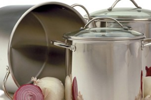Stainless Stock Pots - The Happy Cooker - Cookware - Winnipeg - Manitoba